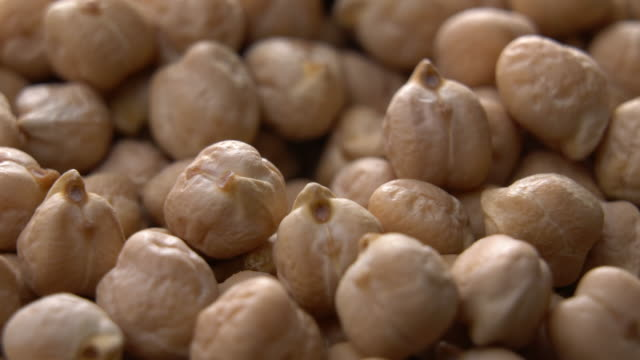 chickpeas rotating with close up shot - dried food stock videos & royalty-free footage