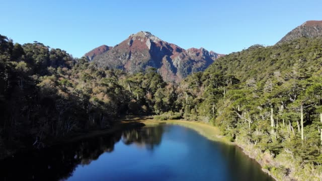 chico lake - chile stock videos & royalty-free footage