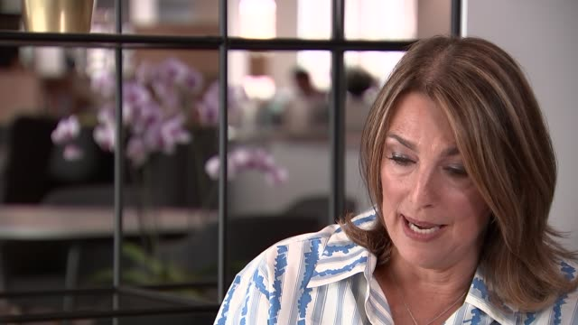 stockvideo's en b-roll-footage met itv chief executive dame carolyn mccall interview england london int dame carolyn mccall interview sot talks of the gender pay gap / talks of the... - ant mcpartlin