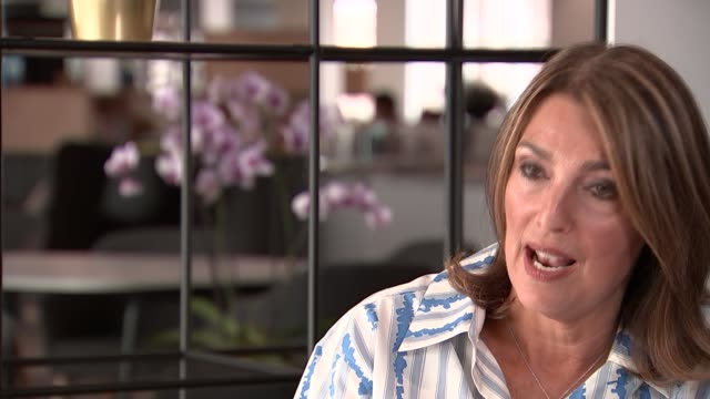 itv chief executive dame carolyn mccall interview england london int dame carolyn mccall interview sot talks of need to regulate subscription... - forbidden stock videos & royalty-free footage