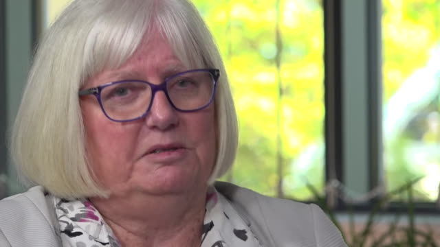 "chief executive of british gymnastics, jane allen saying she has been ""devastated"" by welfare and bullying allegations and will be retiring in... - distraught stock videos & royalty-free footage"