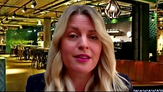 chief executive of the british beer & pub association, emma mcclarkin saying the coronavirus vaccine passport could make pub staff feel like they are... - beer alcohol stock videos & royalty-free footage