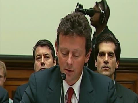 BP chief executive Tony Hayward is apologizes for oil spill along Gulf of Mexico at special hearing at the Senate