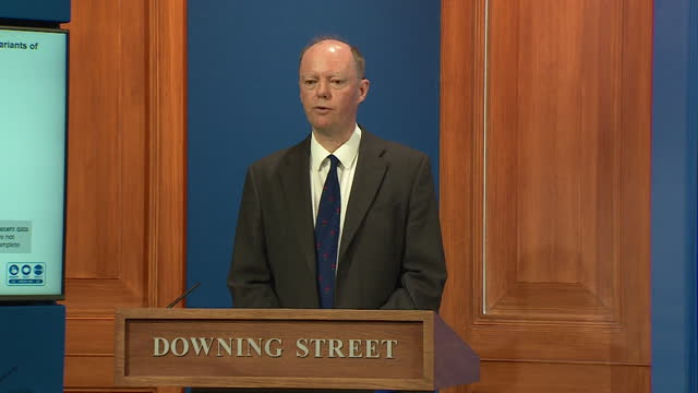 chief medical officer chris whitty saying a four week delay to full reopening from coronavirus lockdown will reduce risk of a high peak - mountain peak stock videos & royalty-free footage