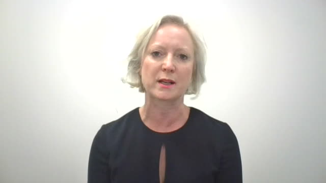 chief nursing officer ruth may saying many retired nhs staff have contacted her about returning to work to assist with the coronavirus crisis - a helping hand stock videos & royalty-free footage