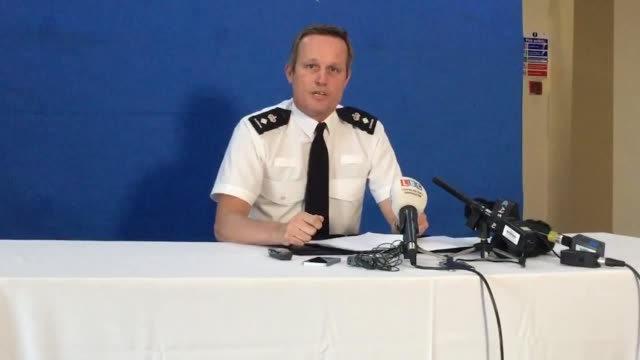 chief superintendent rob griffin of nottinghamshire police conducting a press conference in light of the death of 18yearold engineering student... - nottinghamshire stock videos & royalty-free footage