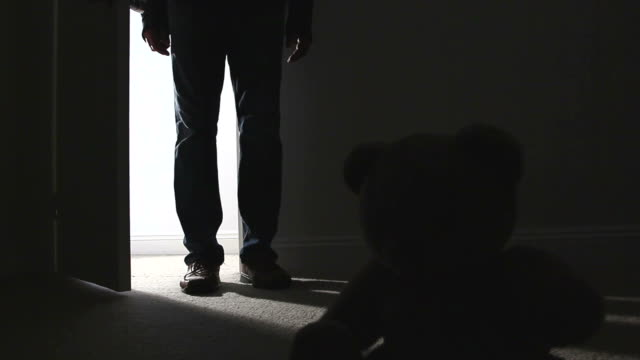 child abuse teddy. - child abuse stock videos & royalty-free footage