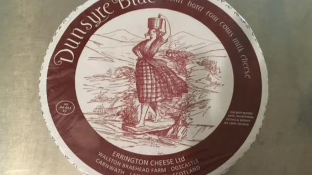 child dies after e-coli outbreak in scotland; int dunsyre blue cheese label on cheese various shots cheese on shelves professor hugh pennington... - escherichia coli video stock e b–roll