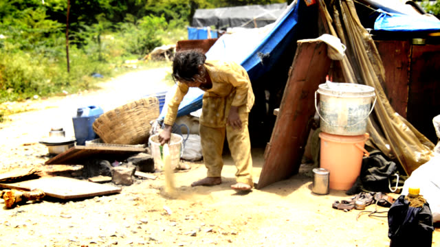 child labour - poverty stock videos & royalty-free footage