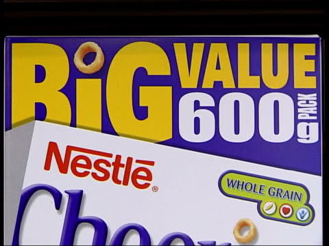 Junk food adverts LIB Jammie Dodgers big value packs CSs Advertising on Nestle packs and Jaffa Cakes CMS Twin packs of pizzas as one picked up CS...
