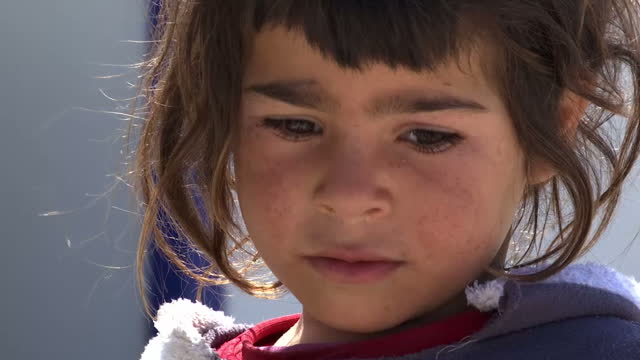 Child refugees in Turkish border camp Akcakale have told Sky News they live in fear of Islamic State after their parents and relatives were murdered...