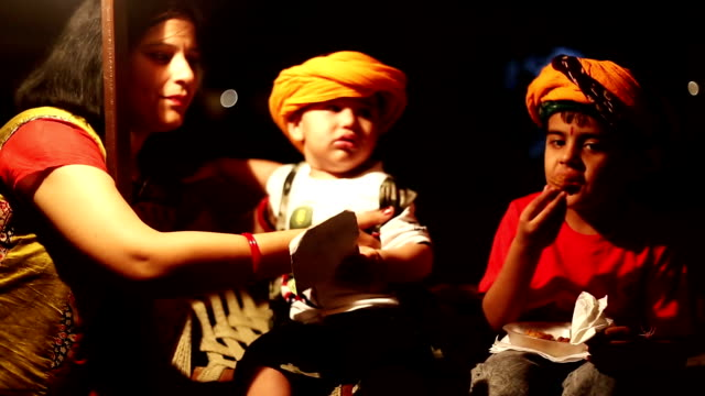 child sitting on charpai - camp bed stock videos & royalty-free footage