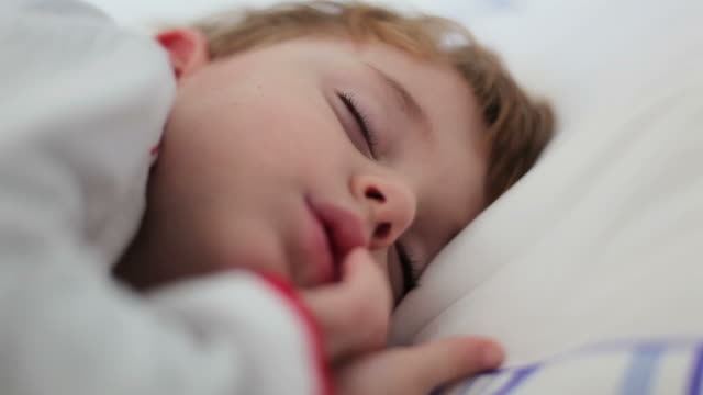 child sleeping 01 - napping stock videos & royalty-free footage
