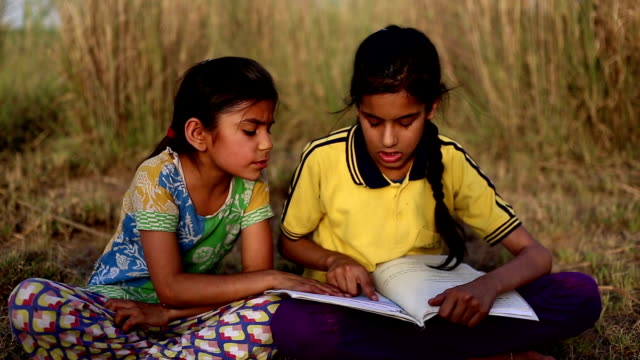 child studying outdoor in the nature - developing countries stock videos & royalty-free footage