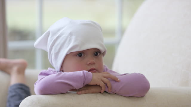 child with leukemia - rocking chair stock videos and b-roll footage