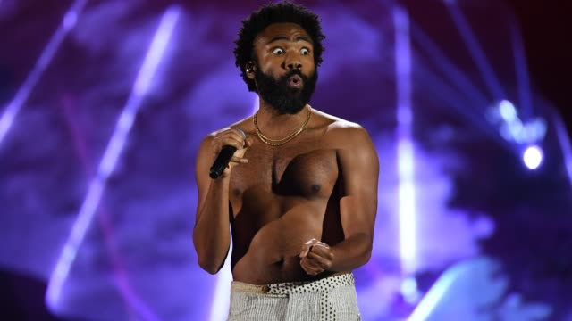 Childish Gambino performs onstage during the 2018 iHeartRadio Music Festival at TMobile Arena on September 21 2018 in Las Vegas Nevada