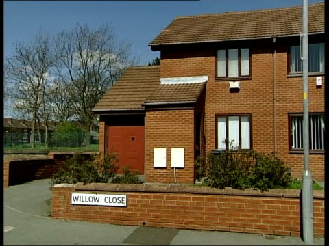 crime / childminder denies killing fivemonth old baby itn bolton rebecca wilson's house in willow close england liverpool ext slow motion rebecca... - nanny stock videos & royalty-free footage