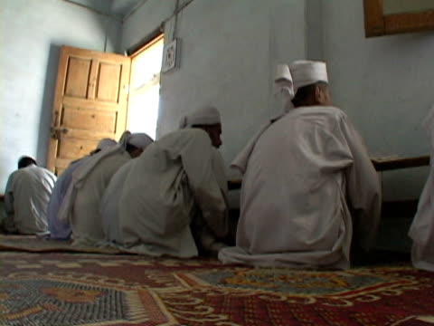 ws children at madrassa, shitral valley, north west province, pakistan - madressa stock videos and b-roll footage