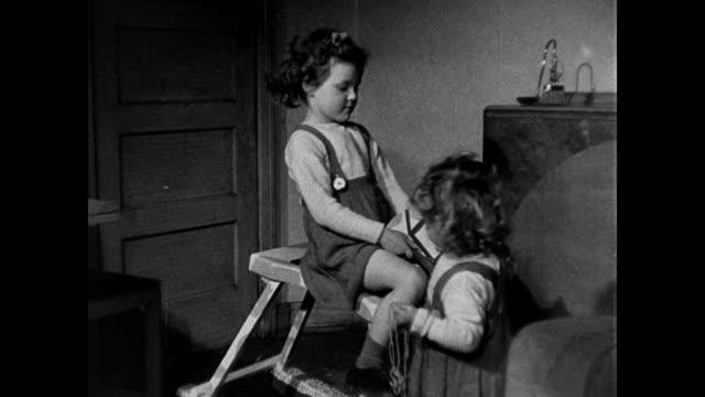 1946 - children at play - unknown gender stock videos & royalty-free footage