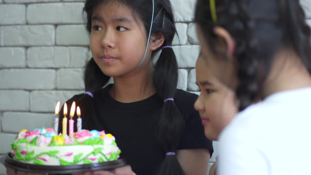 children birthday party - birthday candle stock videos & royalty-free footage