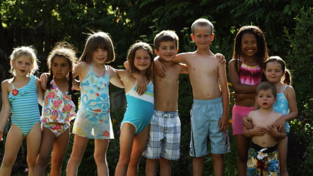 children in bathing suits - see other clips from this shoot 1421 stock videos & royalty-free footage