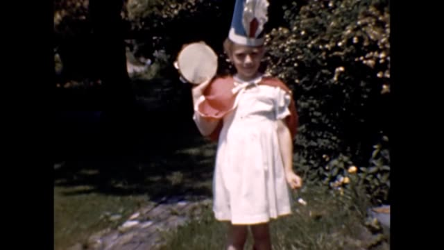 1947 children in costumes - thick stock videos & royalty-free footage