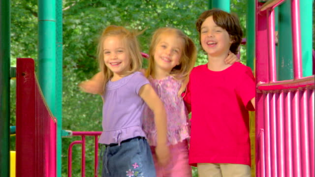 children on a playground - see other clips from this shoot 1428 stock videos & royalty-free footage