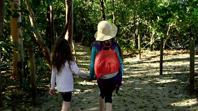 children on vacation - america centrale video stock e b–roll