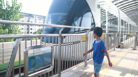 children play in the subway - underground station platform stock videos & royalty-free footage