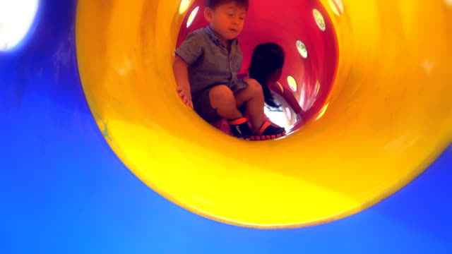 children playing on playground. - jungle gym stock videos and b-roll footage