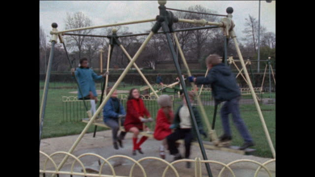 children playing - playground stock videos & royalty-free footage