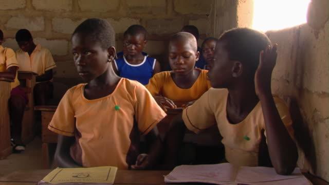 MS Children sitting in classroom, Tamale, Ghana