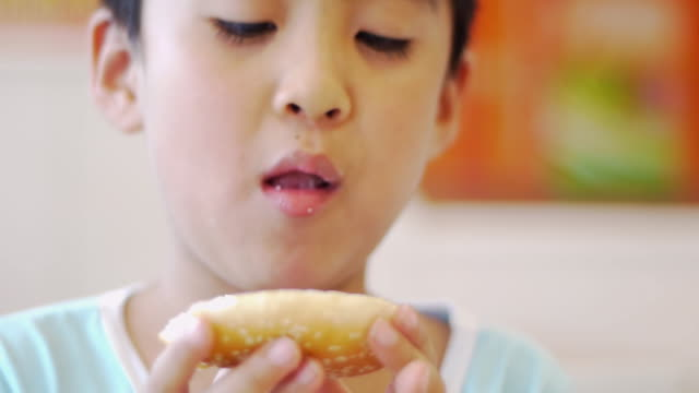 children to eat food - unhealthy eating stock videos & royalty-free footage