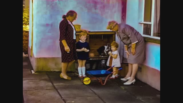 children with grandmothers - senior women stock videos & royalty-free footage
