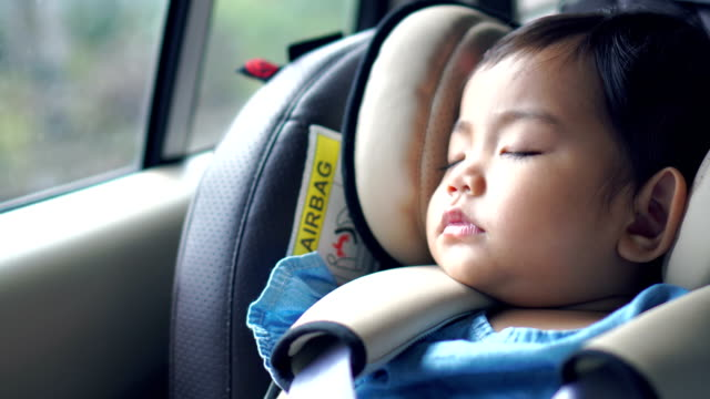children's car seat - safety stock videos & royalty-free footage