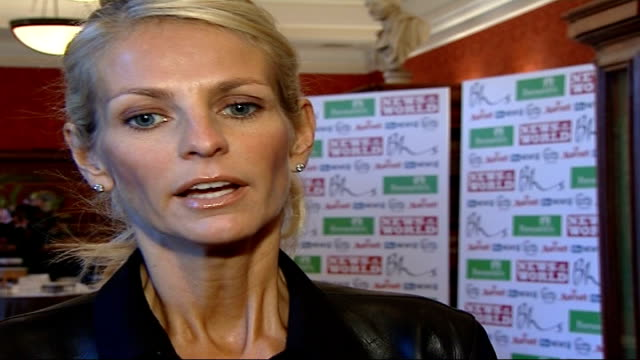 Children's Champion Awards arrivals and interviews Ulrika Johnsson interview SOT judging gets harder and harder each year/ judges don't always agree...