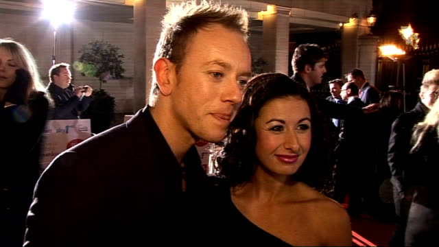 Children's Champions Awards 2010 celebrity arrivals Hayley Tamaddon and Daniel Whiston interview SOT On appearing on the TV show 'Dancing on Ice'...