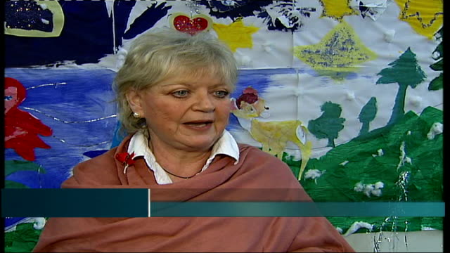 children's charity hosts fundraising concert; ann marie byrne interview sot - retrovirus video stock e b–roll