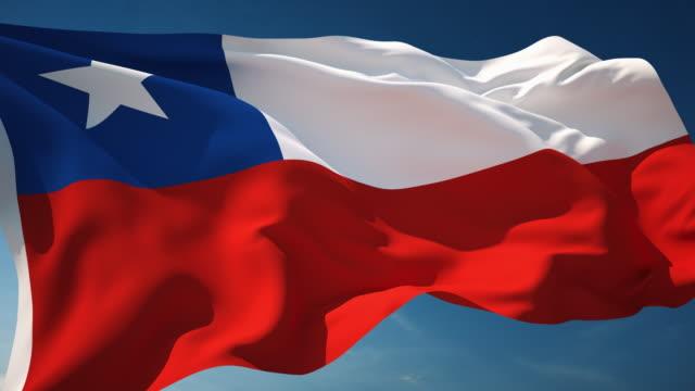 国旗 チリ