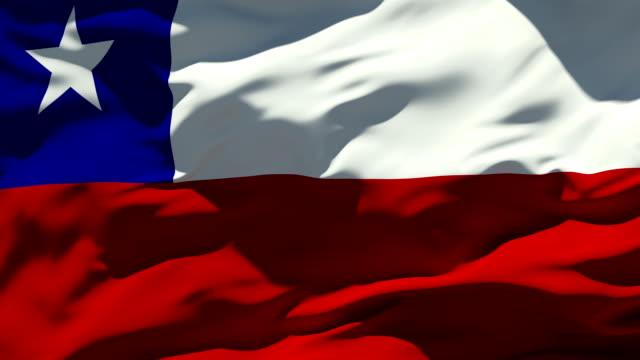 chile flag - flag stock videos & royalty-free footage