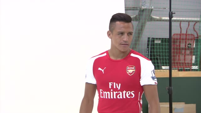 Chile international striker Alexis Sanchez has agreed to join Arsenal Football Club on a longterm contract Behind the scenes photo shoot at the...