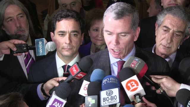 chile says landlocked bolivia is not entitled to negotiate sovereign access to the sea via its territory as a hearing opened at the international... - international court of justice stock videos and b-roll footage