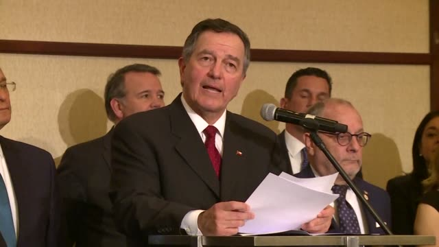 chilean foreign minister roberto ampuero reads a letter from the lima group of 13 latin american states and canada urging the united nations to take... - foreign minister stock videos and b-roll footage