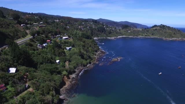 chilenische Patagonien Küste Dorf