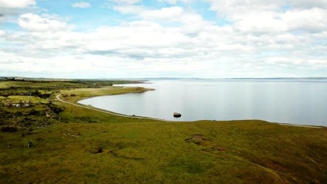 vídeos de stock e filmes b-roll de chilean patagonian landscape - chile