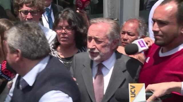 chilean political opponent jovino novoa a former collaborator of dictator augusto pinochet has been sentenced to three years of probation for fraud... - probation stock videos & royalty-free footage