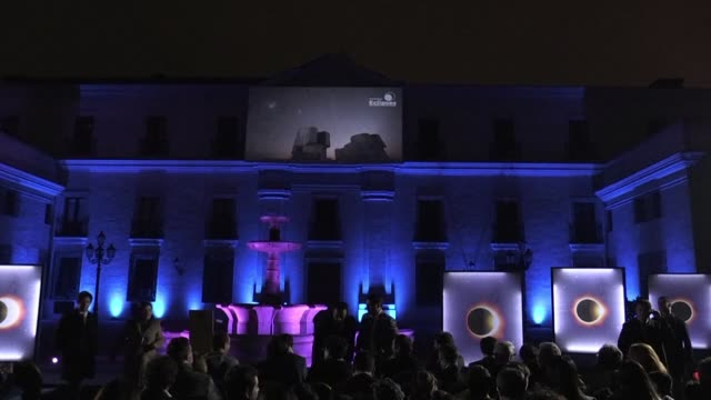 Chile's President Sebastian Pinera kicks off the Eclipse Season in a ceremony at La Moneda Palace to celebrate the total solar eclipses that will...