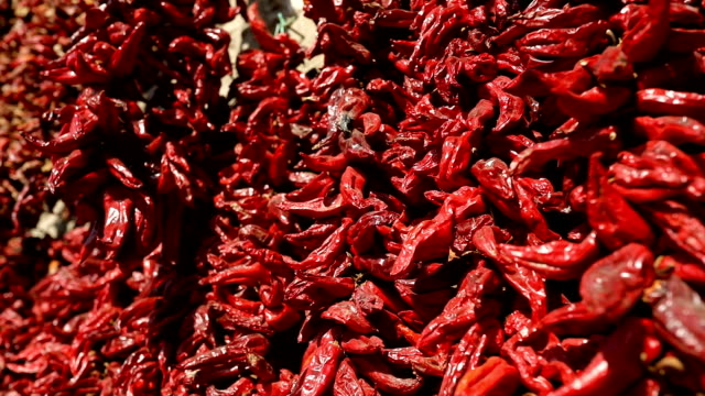 chili pepper string - drying stock videos & royalty-free footage