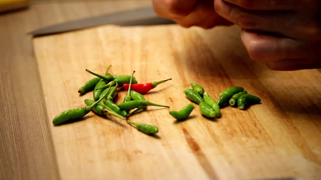 chilli crushed - chopping stock videos & royalty-free footage
