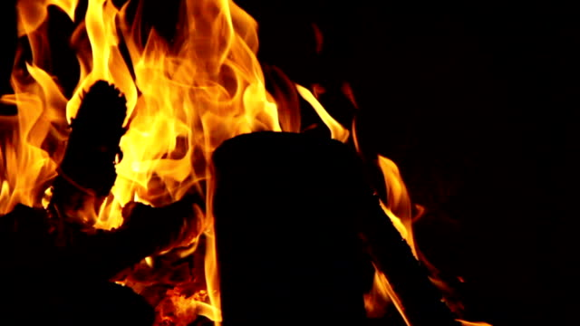 kamin feuer 50 fps - 50 seconds or greater stock-videos und b-roll-filmmaterial